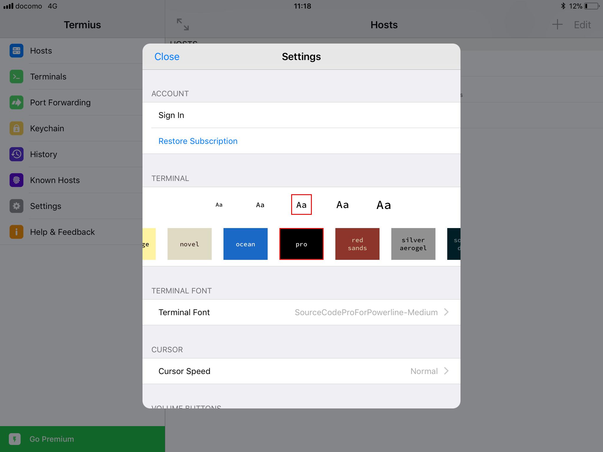 iPad用の無料SSHクライアント「Termius」がめっちゃ使える件
